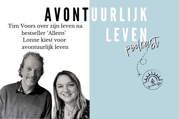 Podcast: Tim Voors over zijn bestseller 'Alleen' | Lonne kiest voor avontuurlijk leven