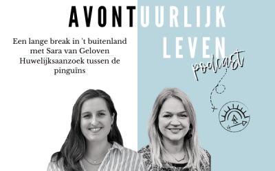 Podcast: Een lange break in het buitenland, met Sara van Geloven