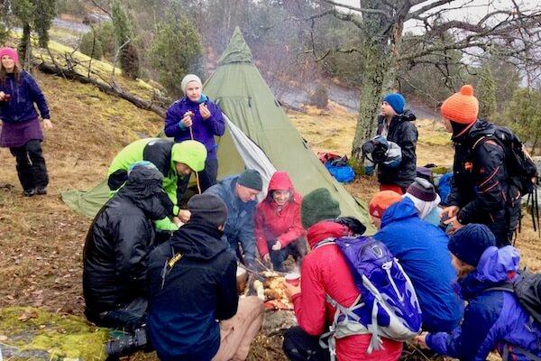 Outdoor workshop 'Friluftsliv' – Scandinavisch buitenluchtleven – 8 okt '21