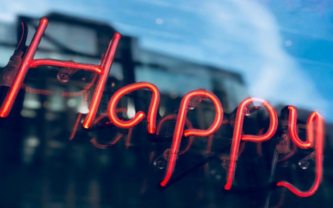 Geluk en avontuur gaan hand in hand